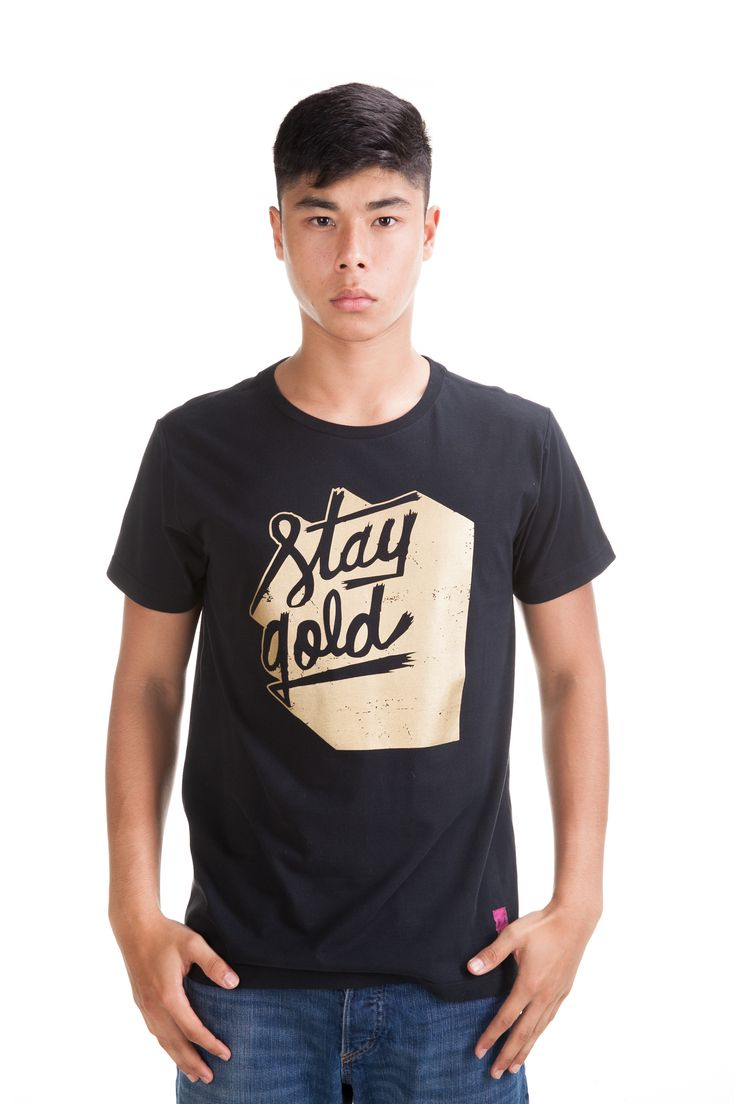 Stay Black Tee Rp. 249,000 Available in S, M, L and XL