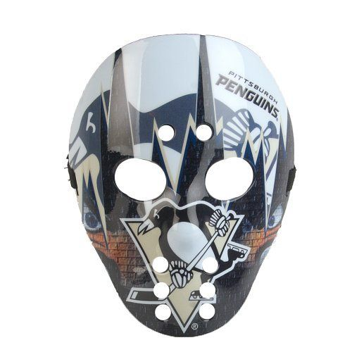 NHL Pittsburgh Penguins Warface by Foamheads. $19.95. Show your NHL pride with this full color mask! Made of durable ABS plastic with elastic strap for secure fit.