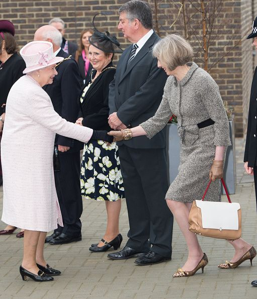 Queen Elizabeth II and Prince Philip Duke of Edinburgh attended the inauguration of Holyport College in the County of Berkshire, West of London.