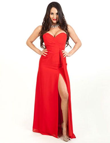 The gorgeous huge breasts of Wwe smackdowns Nikki Bella in ...