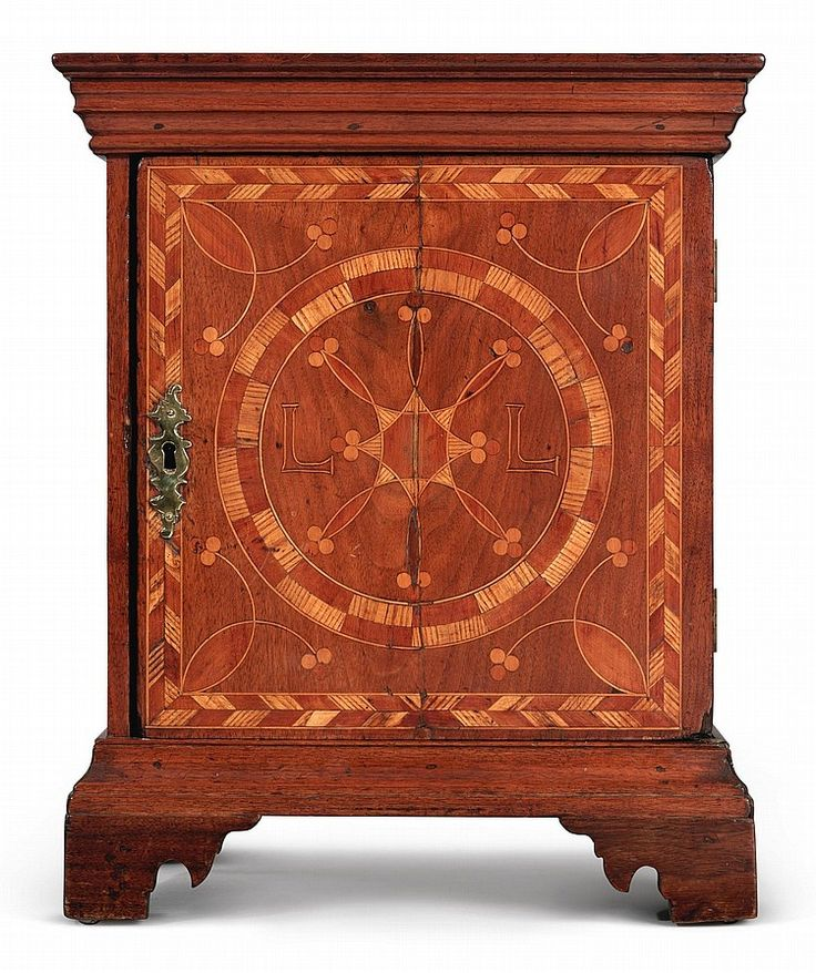 Buy online, view images and see past prices for VERY RARE CHIPPENDALE COMPASS-INLAID WALNUT, RED CEDAR, LOCUST AND HOLLY SPICE BOX, PROBABLY CHESTER COUNTY, PENNSYLVANIA, CIRCA 1760 |. Invaluable is the world's largest marketplace for art, antiques, and collectibles.