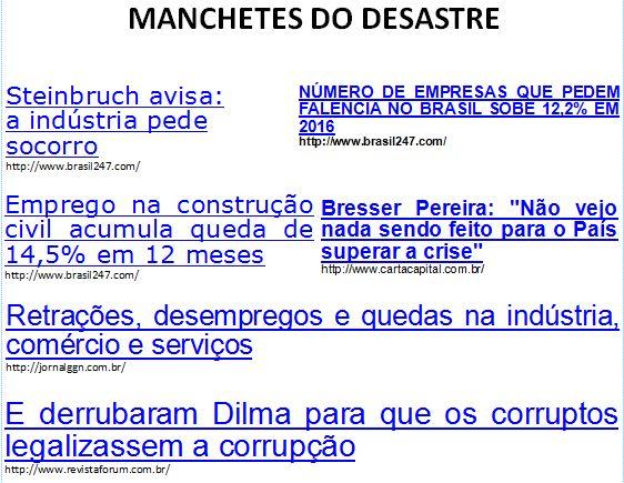 """Além d'Arena: TRIBUTO AOS IDIOTAS DO """"FORA DILMA""""!"""