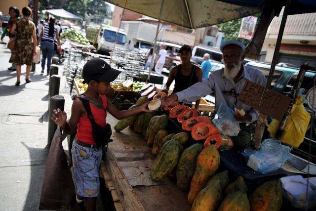 Las impactantes imágenes que muestran el drama de la severa desnutrición infantil en Venezuela http://ift.tt/2r48iZ3