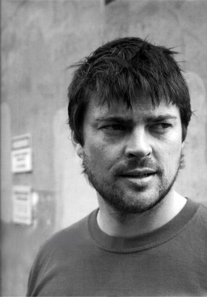 Karl Urban as a muse for Andre.