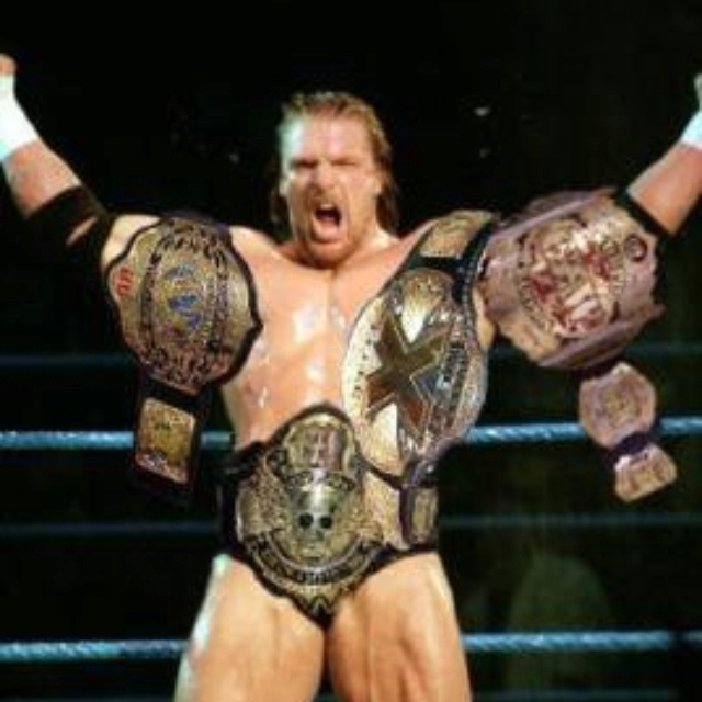 Triple H: You Can Never Have Enough GOLD!