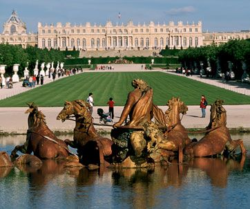 palace of Versailles-barroque arquitecture