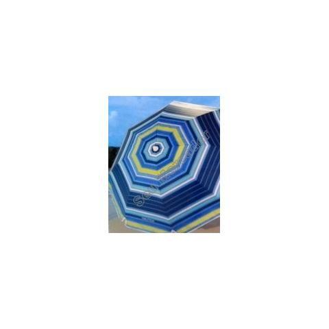 Guarda-sol Sombreiro Colorido Dobrável De Praia Náutica 2,1mAtraente e Perfeito para o seu deck, pátio ou na praia.  Sua construção e pintura robusta é feita de pó de aço, Resistentes à ferrugem, revestido de tecido de poliéster durável, com Proteção FPS de 35. Proteção interna contra Raios nocivos do Sol.