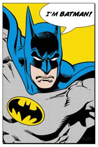 Batman (I'm Batman) Affiches sur AllPosters.fr