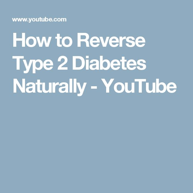 how to get rid of type 2 diabetes naturally