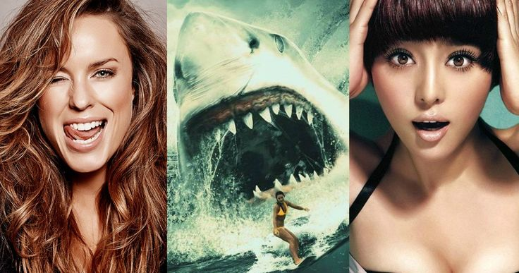 Giant Shark Thriller Meg Gets Jessica McNamee & Bingbing Fan -- Jessica McNamee signs on as the female lead in the shark thriller Meg alongside Jason Statham and Chinese actress Bingbing Fan. -- http://movieweb.com/meg-movie-cast-jessica-mcnamee-bingbing-fan/