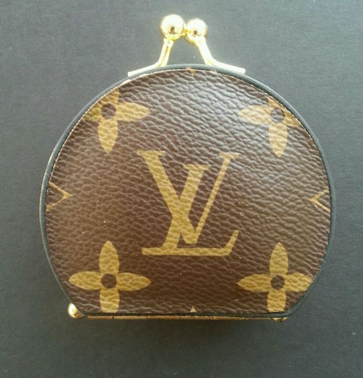 Vintage Louis Vuitton Coin Purse With Mirror ~Extremely Rare~ #LouisVuitton #CoinPurse