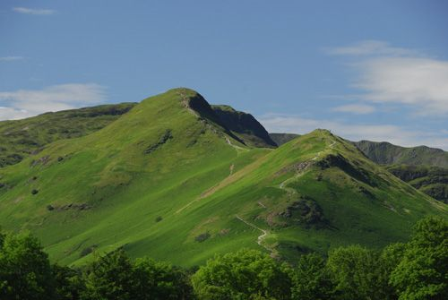 Cat Bells, a Wainwright Fell in the Lake District