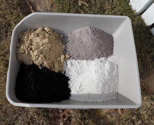 DUST BATH: garden soil, natural construction or river sand, wood ash, DE                                                                                                                                                                                 More