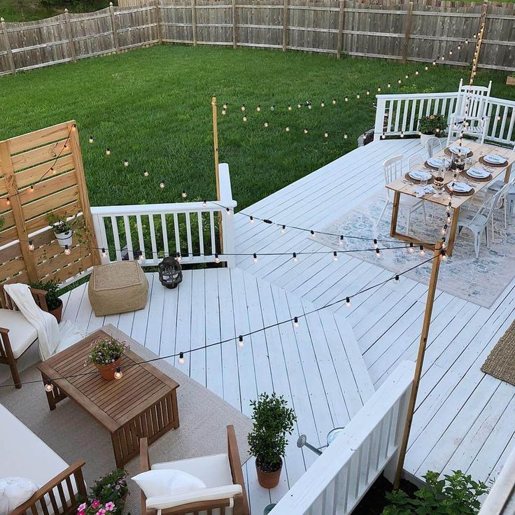 15 Great ideas for lighting your deck