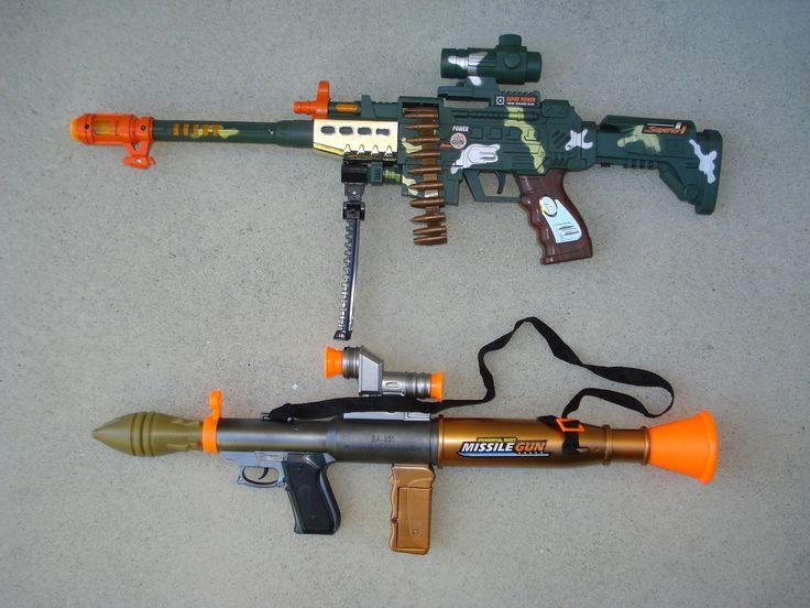 bazooka machine