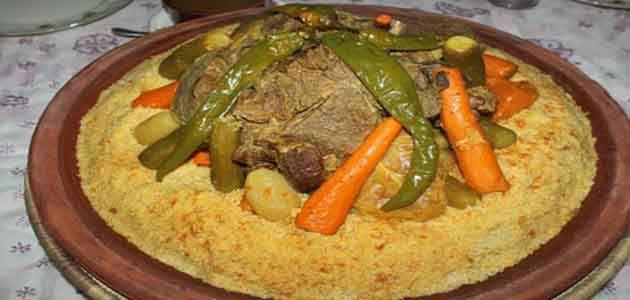 طريقة تحضير الكسكس المغربي مذكرة In 2020 Moroccan Couscous Food Couscous