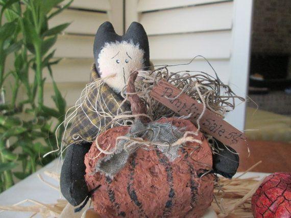 SALE: Pumpkins for Sale  Fall Decoration by StitchingTimeBoutiqu