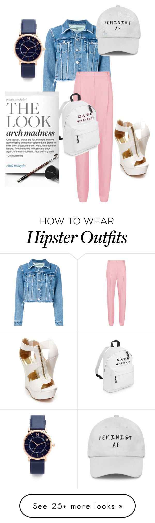 """""""......."""" by mostal on Polyvore featuring Off-White, TIBI and Marc Jacobs"""