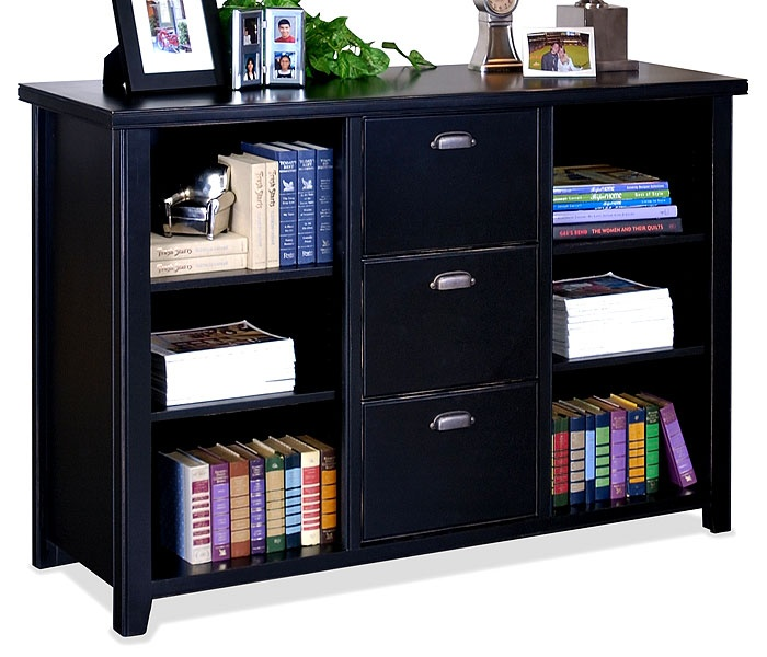 lateral file bookcase combo 2