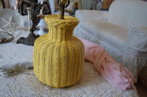 17 Best Images About Yellow Wicker On Pinterest Wall