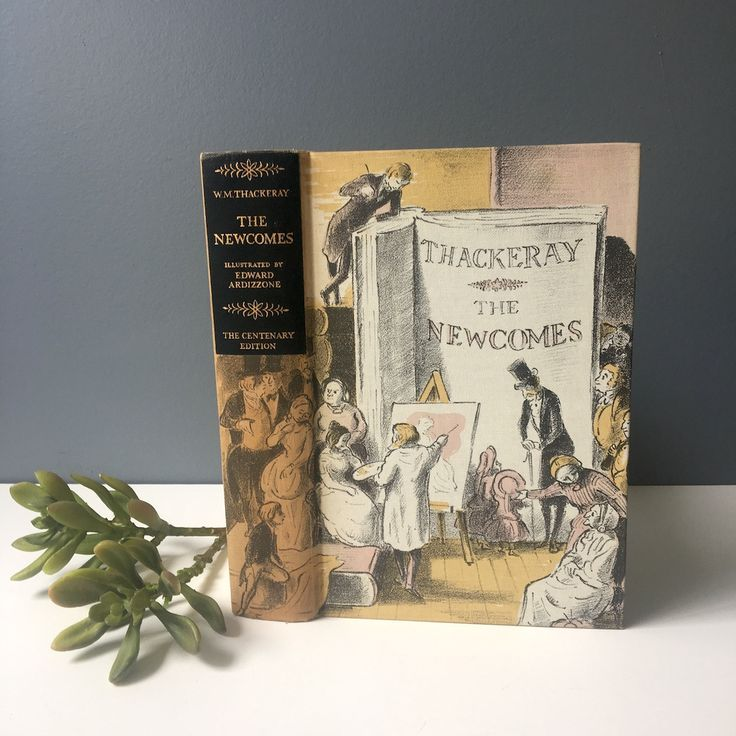 The Newcomes by William Makepeace Thackeray - Heritage Press illustrated hardcover - 1955