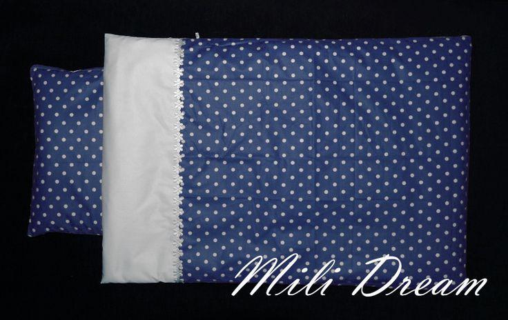 Komplet pościeli do wózka / kołyski z wypełnieniem w Mili Dream na DaWanda.com