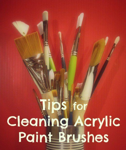 17 best ideas about paint brush cleaning on pinterest for Acrylic brush techniques