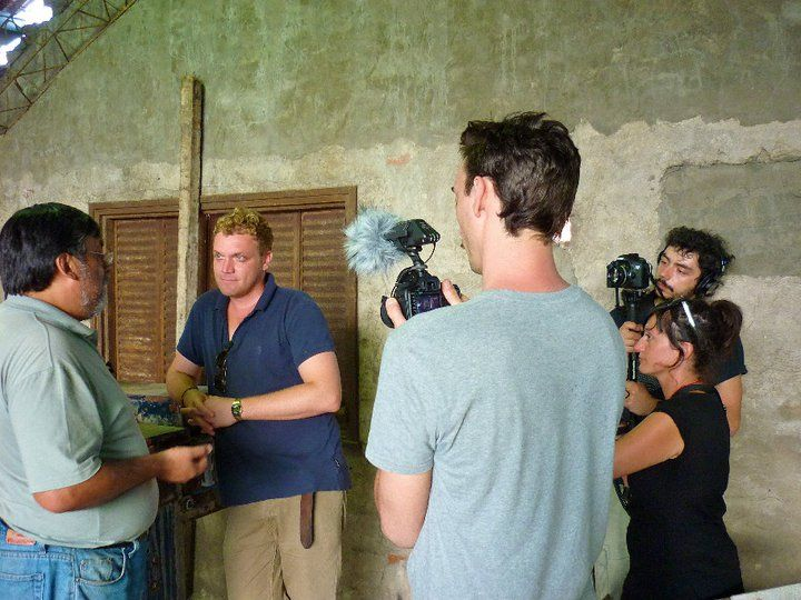 Backstage shots from the filming of the Vanguard: Argentina series (Current TV, 2011), taken in Buenos Aires, Patagonia, and Tierra del Fuego.