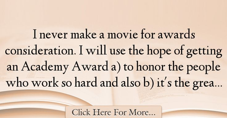 Harvey Weinstein Quotes About Hope - 36500