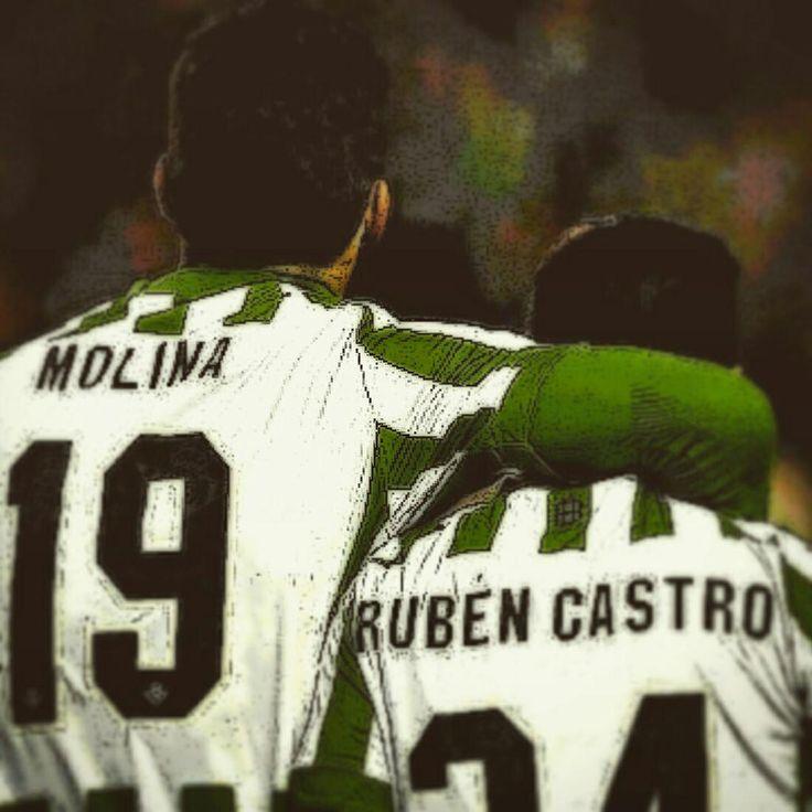 Ya son leyenda. Rubén Castro & Jorge Molina #RealBetis