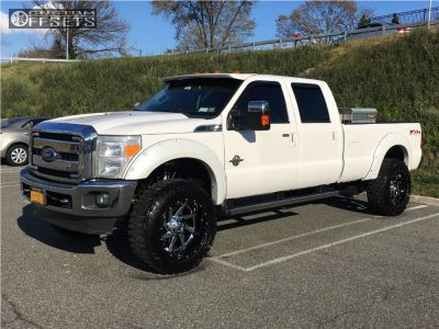 2011 Ford F-350 Super Duty Fuel Renegade Cooper Discoverer Stt Pro