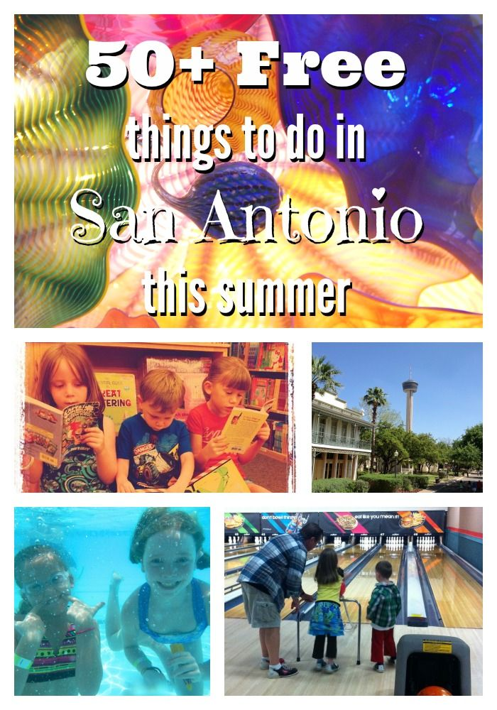 50+ free things for kids and families to do in San Antonio this summer