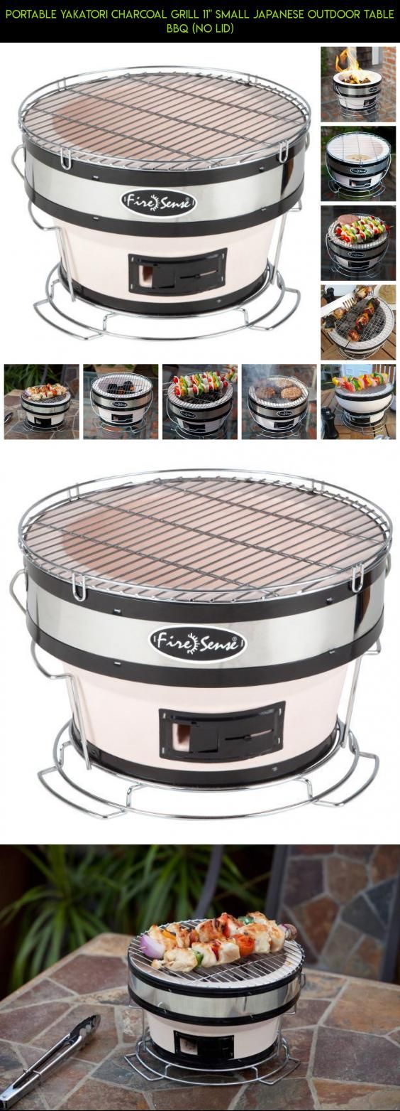 "Portable Yakatori Charcoal Grill 11"" Small Japanese Outdoor Table BBQ (No Lid) #small #camera #fpv #shopping #products #technology #grills #kit #tech #gadgets #plans #drone #parts #racing"