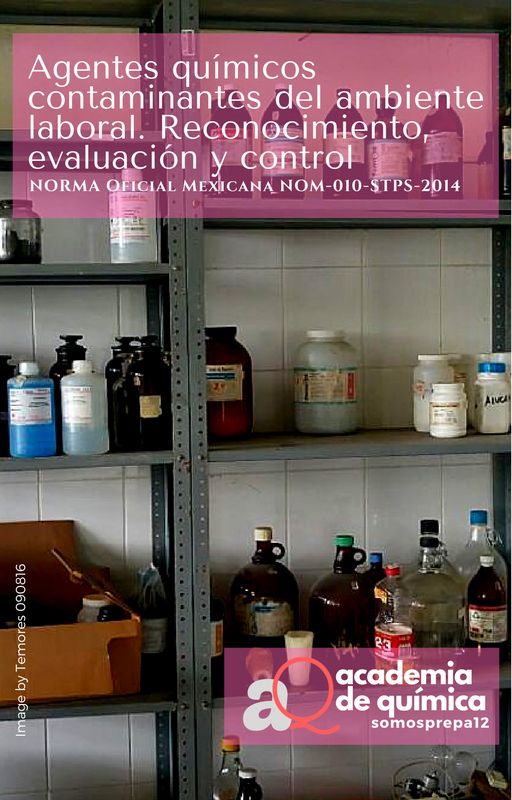 #Asaber | NORMA Oficial Mexicana NOM-010-STPS-2014, Agentes químicos contaminantes del ambiente laboral- Reconocimiento, evaluación y control / @udg_oficial / #somosprepa12 #prepa12udg #RedUdeG #udeg #udg #prepa12staudeg #prácticadocente #académicos #aprendizaje #profordems #ecodems #snb #ems #riems #nom #normaoficialmexicana
