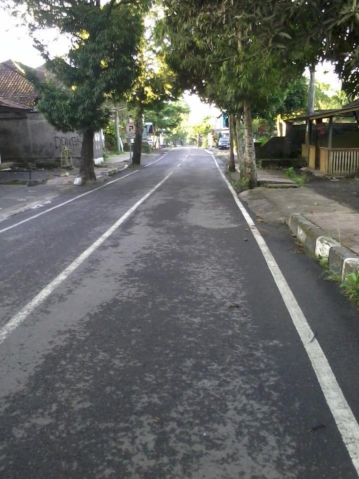 Nyepi day in Ubud,Bali