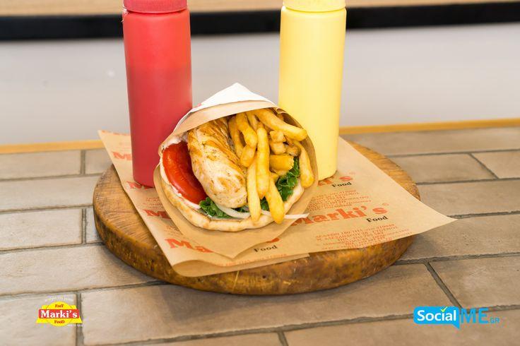 Τα καλύτερα Σάντουιτς θα τα βρεις στα MarkisFood με πατάτες και την αγαπημένη σου σαλάτα!! Παραγγελία Online: www.markisfood.gr με -20% στην πρώτη σου παραγγελία..!!! #MarkisFood #Food #Thessaloniki