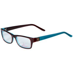 baby phat womens eyeglass frames brown and blue