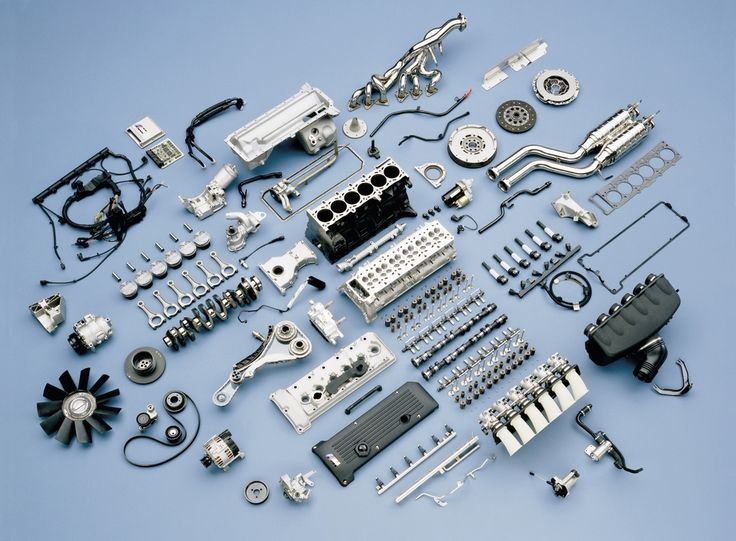E46 M3 BMW Engine Exploded View