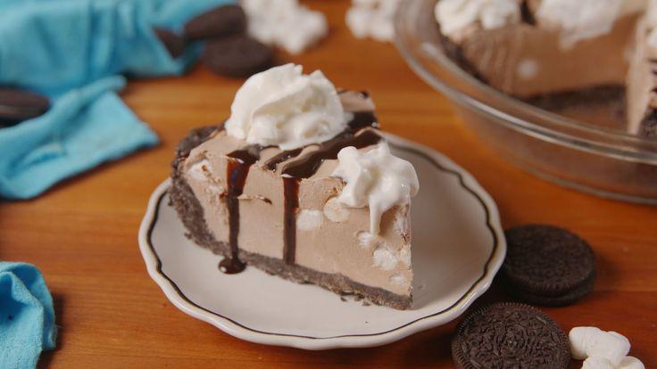Frozen Hot Chocolate Cheesecake - Delish.com
