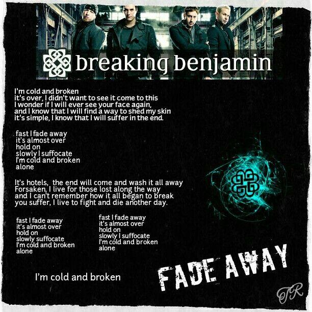 Fade by staind lyrics