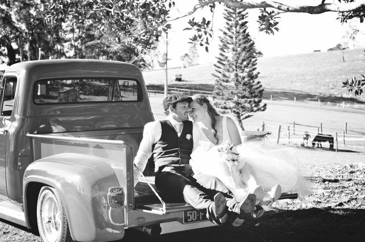 Wedding car, Country Barn Wedding, Kenilworth Homestead
