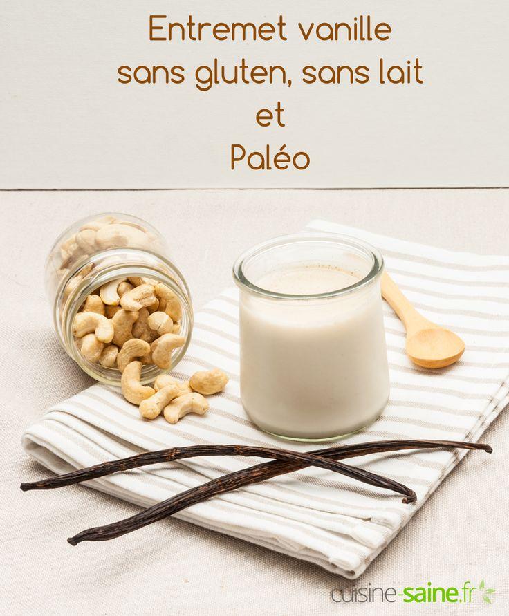 Entremet vanille sans gluten, sans lait et paléo à découvrir sur : https://cuisine-saine.fr/recette-paleo/entremet-vanille-sans-gluten-paleo/ via @karenchevallier