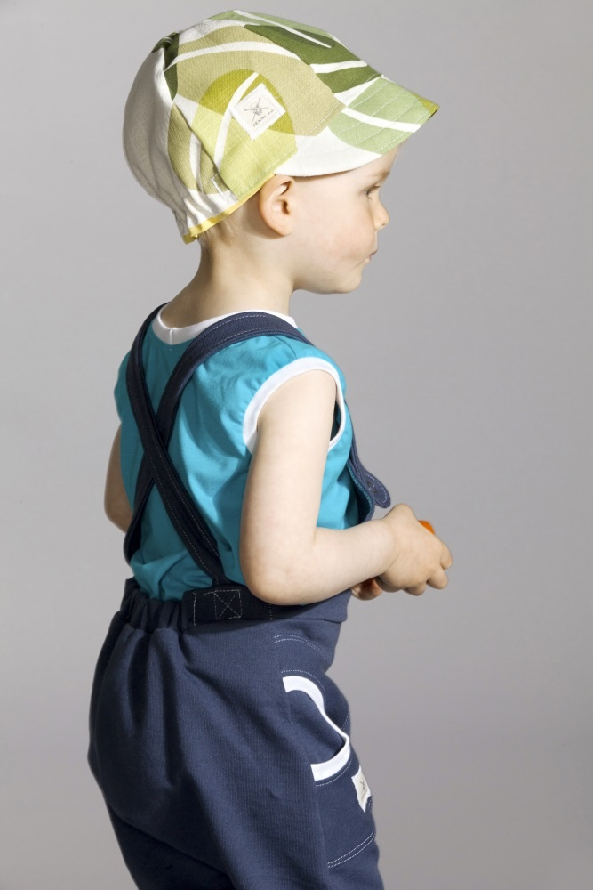 Summer overalls made of finnish jersey