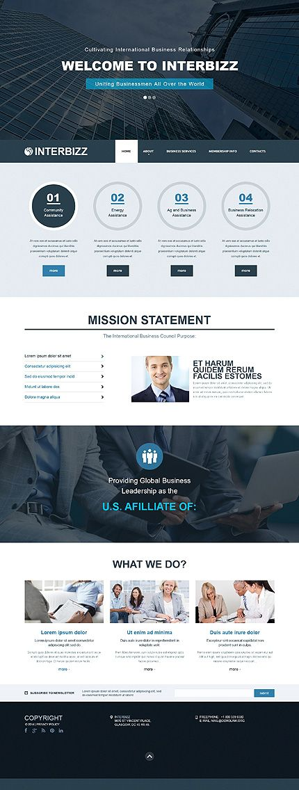 Business Website Design Inspiration