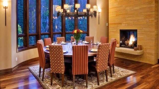 round dining room table ideas