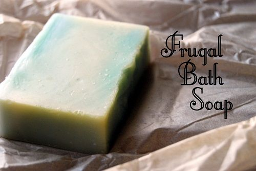 How to Make Your Own Frugal Bath Soap http://bargainbriana.com/frugal-bath-soap/  #homemade #soap #frugal