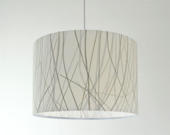 Lampenschirm mit echten Gräsern - Natur pur! von Lampenschirme mit Naturmaterialien & Gummiringen auf DaWanda.com