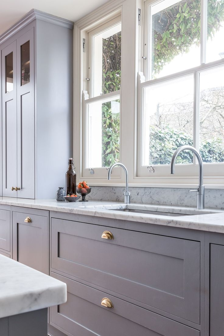 Frillen in grey and brass | Sola Kitchens