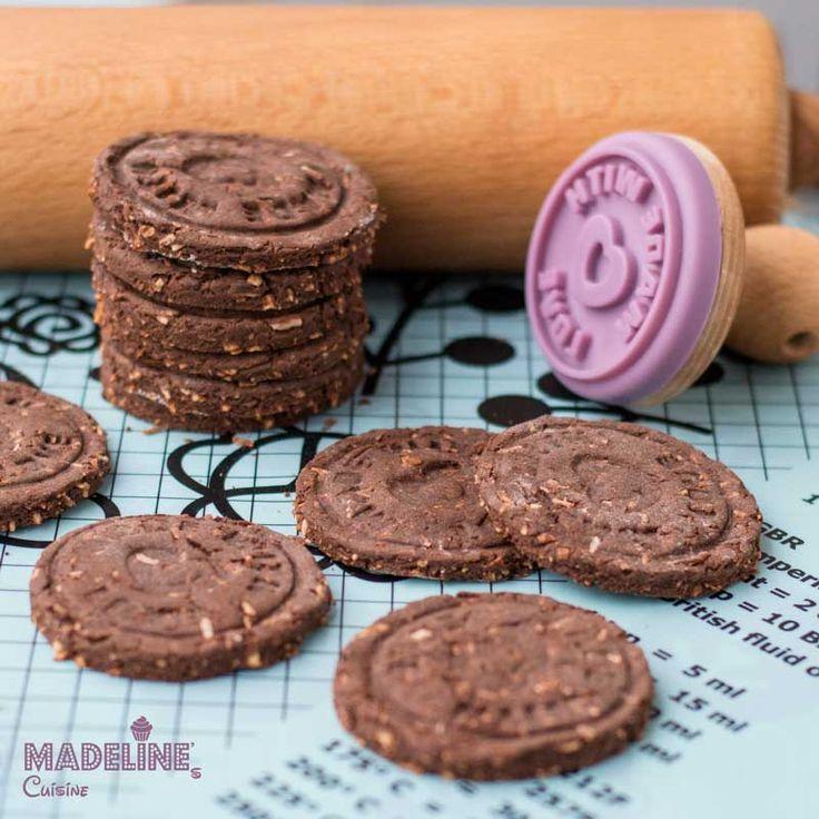 Biscuiti cu ciocolata fara gluten / Gluten-free chocolate cookies