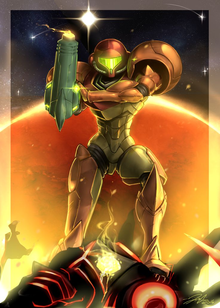 "- ""Samus Aran, the accursed Hunter, has arrived. The..."